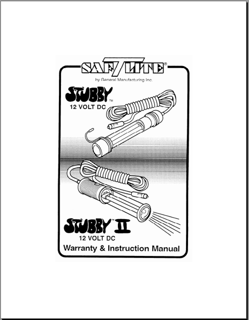 Picture of Stubby & Stubby II 12volt (9032-7032)