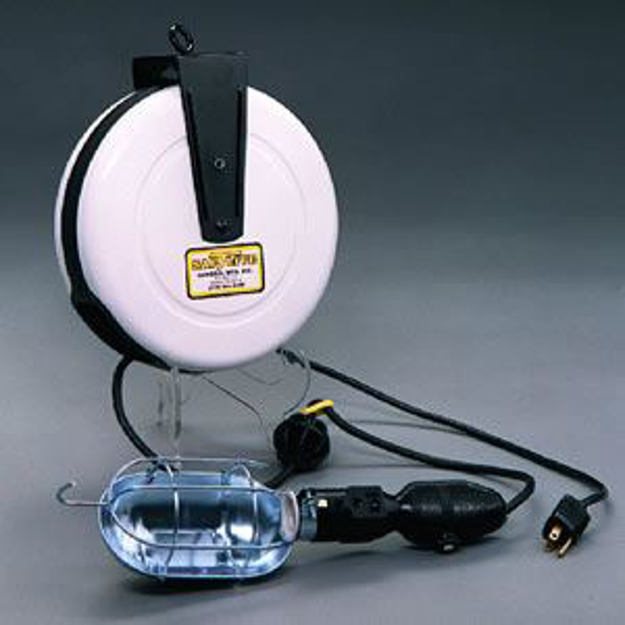 Picture of Incandescent, 30ft. Reel, with switch, with Tool Tap, with circuit breaker at handle (2575-3000)