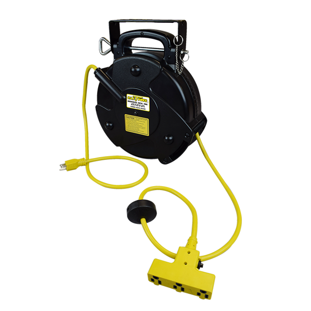 Picture of Mid Size Portable Power Supply Reel, 40' Cord (2200-3000)