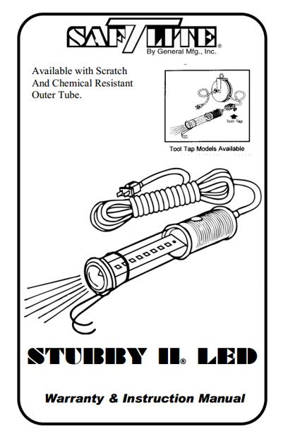 Picture of Stubby II LED, Eight 1/2 Watt LEDs (9032-7292)